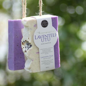 Lavender Haze Soap on a Rope