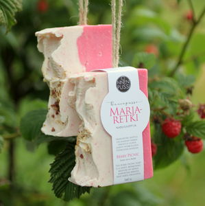 Berry Picnic Soap on a Rope