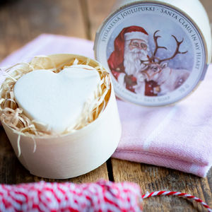 Santa Claus in my Heart Salt Soap